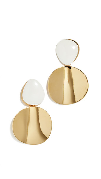 Lizzie Fortunato Painted Disco Earrings