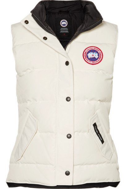 Canada Goose - Freestyle Quilted Shell Down Vest - Ivory