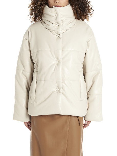 Nanushka hide Jacket in beige