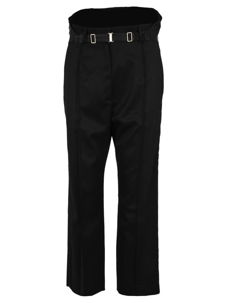 MM6 Maison Margiela Mm6 Tuxedo Pants in black