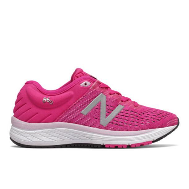 New Balance 860v10 Kids Big Kid Shoes - Pink/Red/Purple (YP860K10)