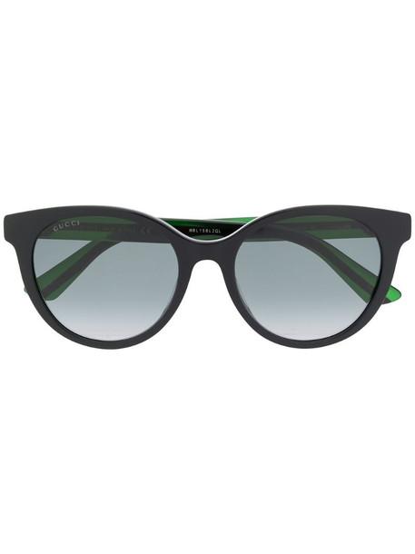 Gucci Eyewear GG0702SK round-frame sunglasses in black