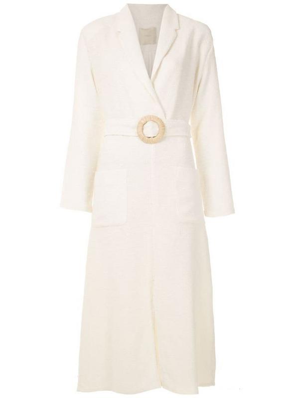 Framed Colorado midi dress in neutrals