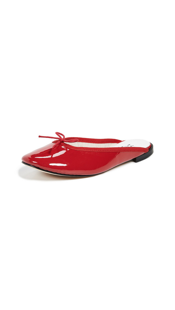 Repetto Leila Mules in red