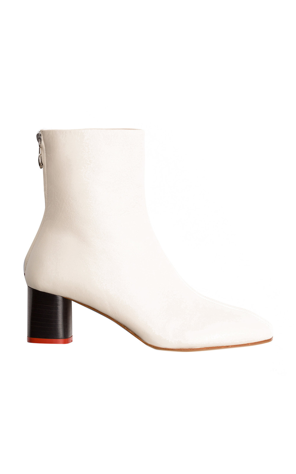 Aeyde Florence Booties in white