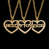 jewels,gullei,gullei.com,bff necklaces,friendship necklaces,best friends necklaces,valentines gifts