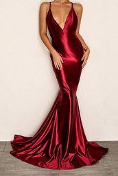 dress,girly,girl,girly wishlist,red dress,red prom dress,red,silk,silk dress,satin,satin dress,maxi dress,maxi,sexy dress,sexy,prom dress,prom,prom gown,long prom dress,mermaid prom dress