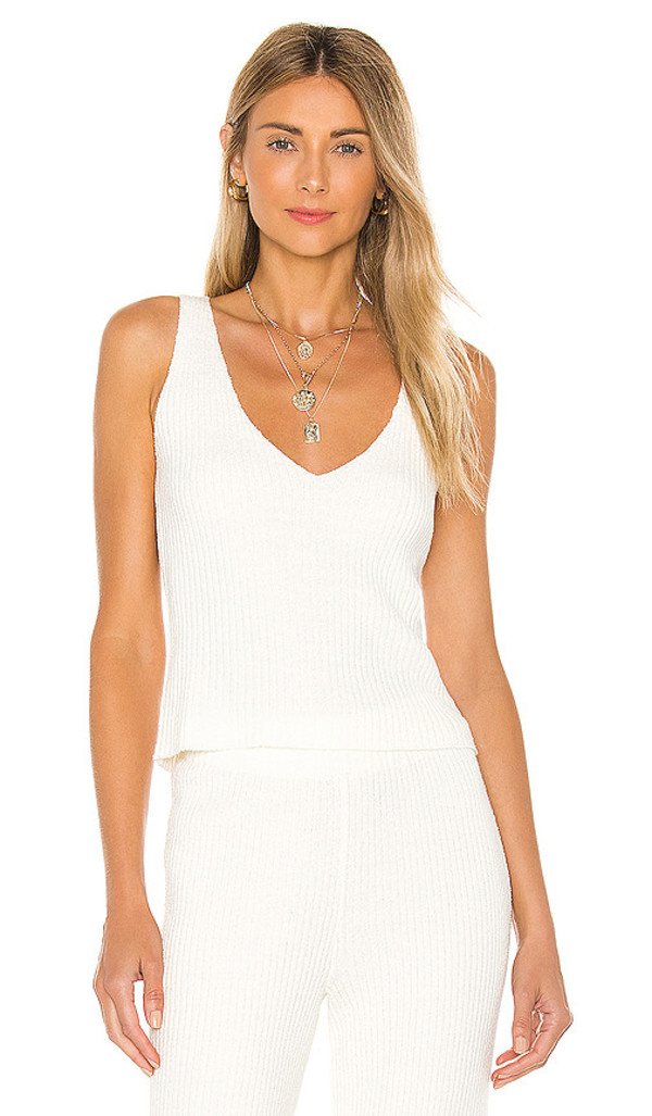 Lovers + Friends Lovers + Friends Catalina Tank in Ivory