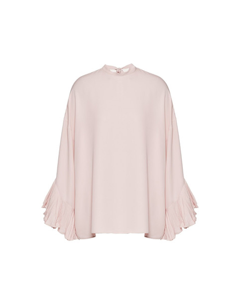 Valentino Ruches With L/sleeves Blouse