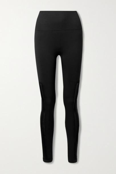 Koral - Excel Cutout Stretch Leggings - Black