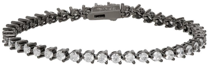 Numbering Gunmetal #3910 Bracelet in black