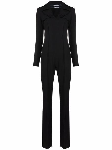 Jacquemus La Combinaison Asao cut-out jumpsuit - Black