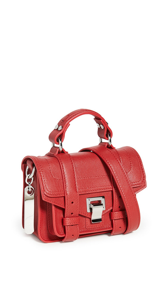Proenza Schouler PS1 Micro Bag in red