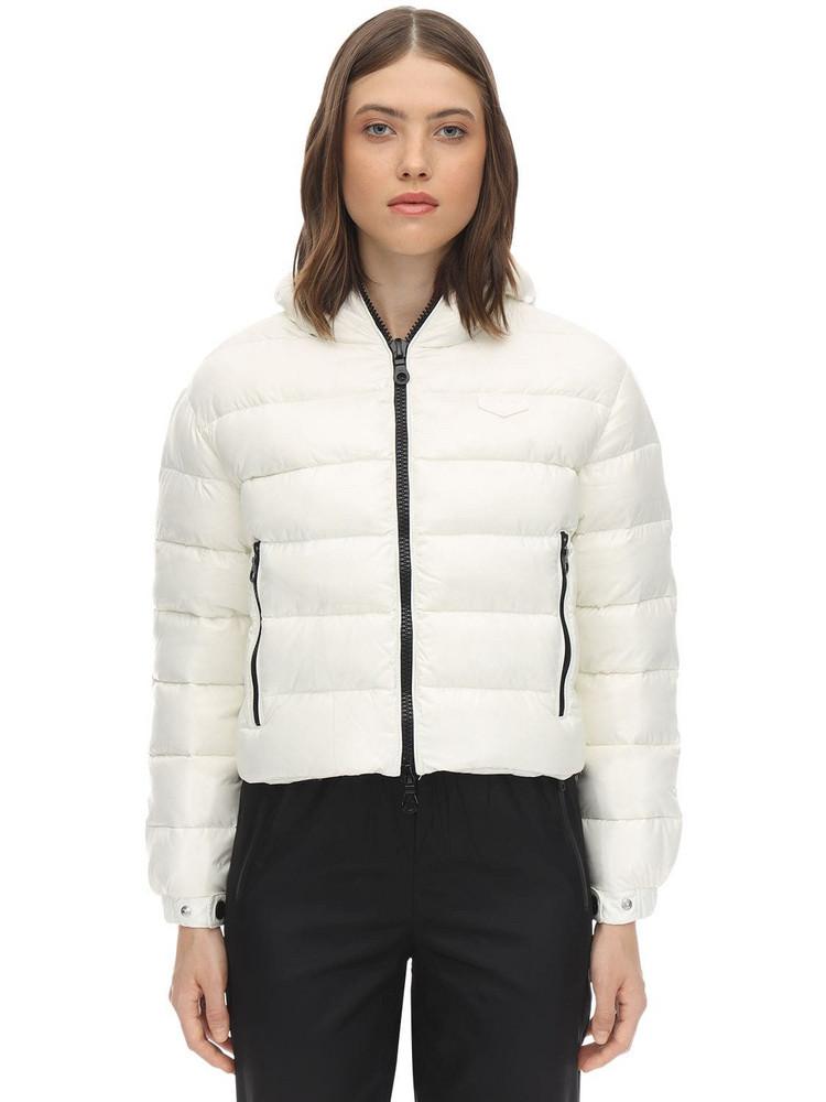 DUVETICA Matar Nylon Down Jacket in white