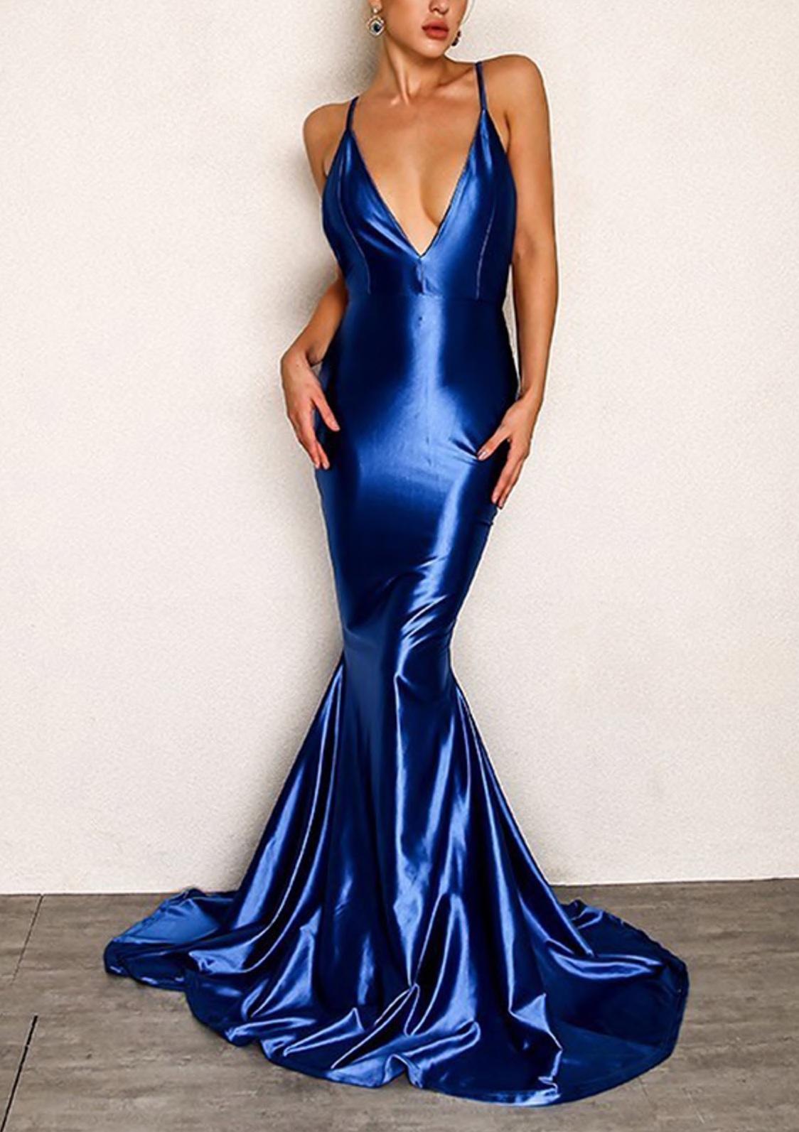 dress girly girl girly wishlist blue blue dress mermaid prom dress mermaid prom dress prom prom gown prom beauty long prom dress