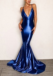 dress,girly,girl,girly wishlist,blue,blue dress,mermaid prom dress,mermaid,prom dress,prom,prom gown,prom beauty,long prom dress