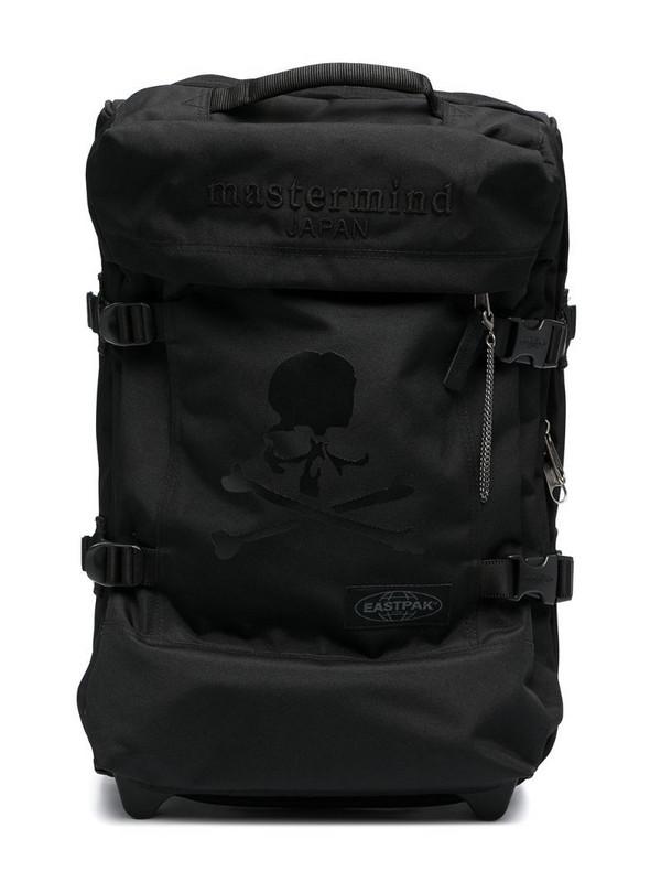 Eastpak skull print travel bag in black