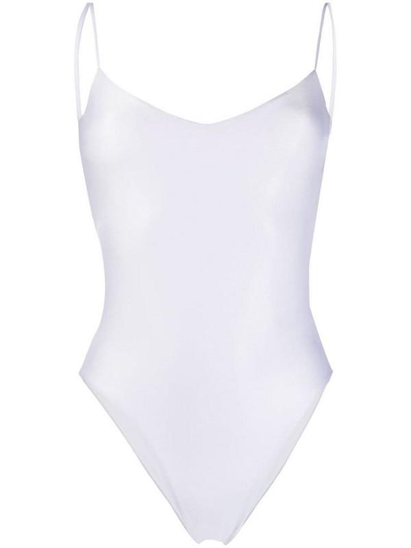 La Reveche Basic Intero swimsuit in white