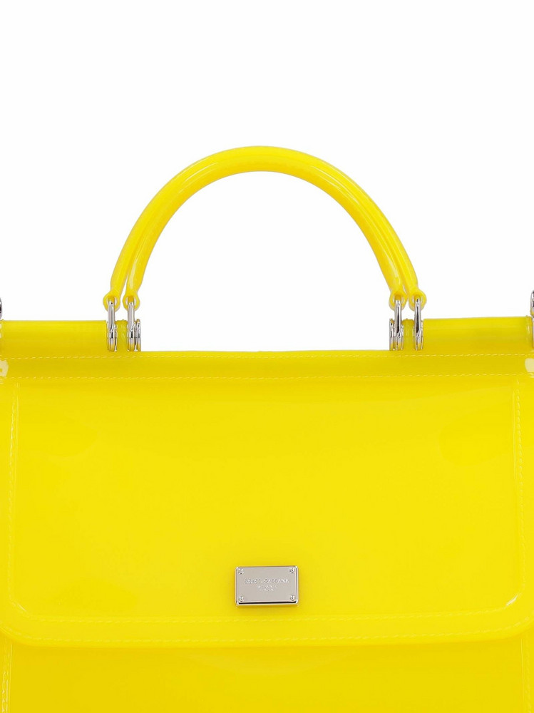 Dolce & Gabbana Sicily Pvc Tote-bag in yellow