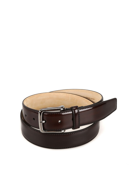 Tod's Brown Smooth Leather Belt Xcmcp610100krws800