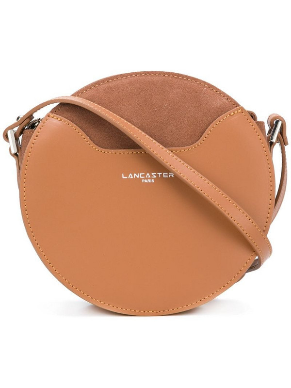 Lancaster round crossbody bag in brown