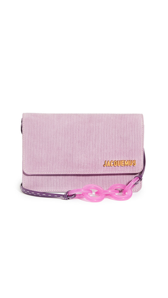 Jacquemus Le Riviera Bag in pink