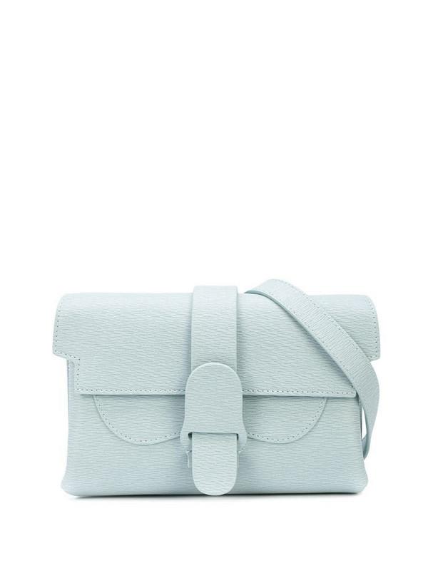 Senreve Aria belt bag in blue