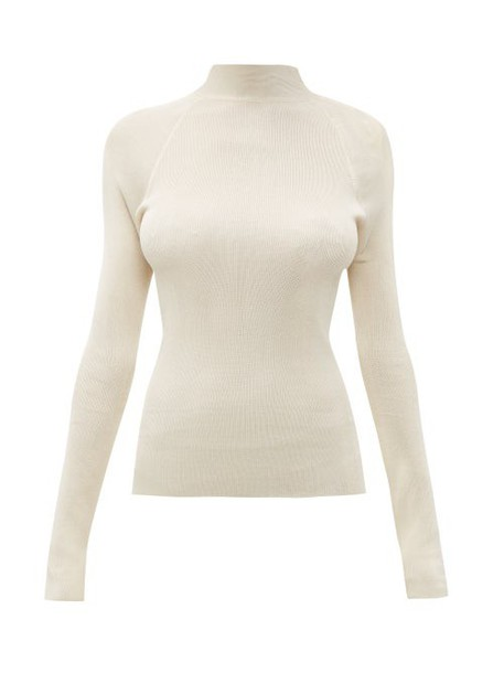 Petar Petrov - Kienna Open Back Sweater - Womens - Beige