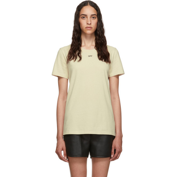 Off-White Off-White Flowers T-Shirt