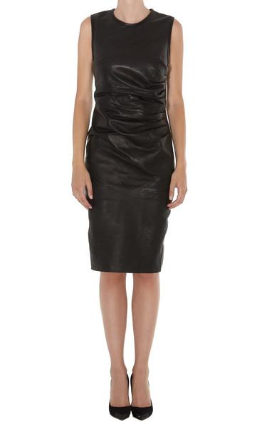 Parosh Maze Dress in black