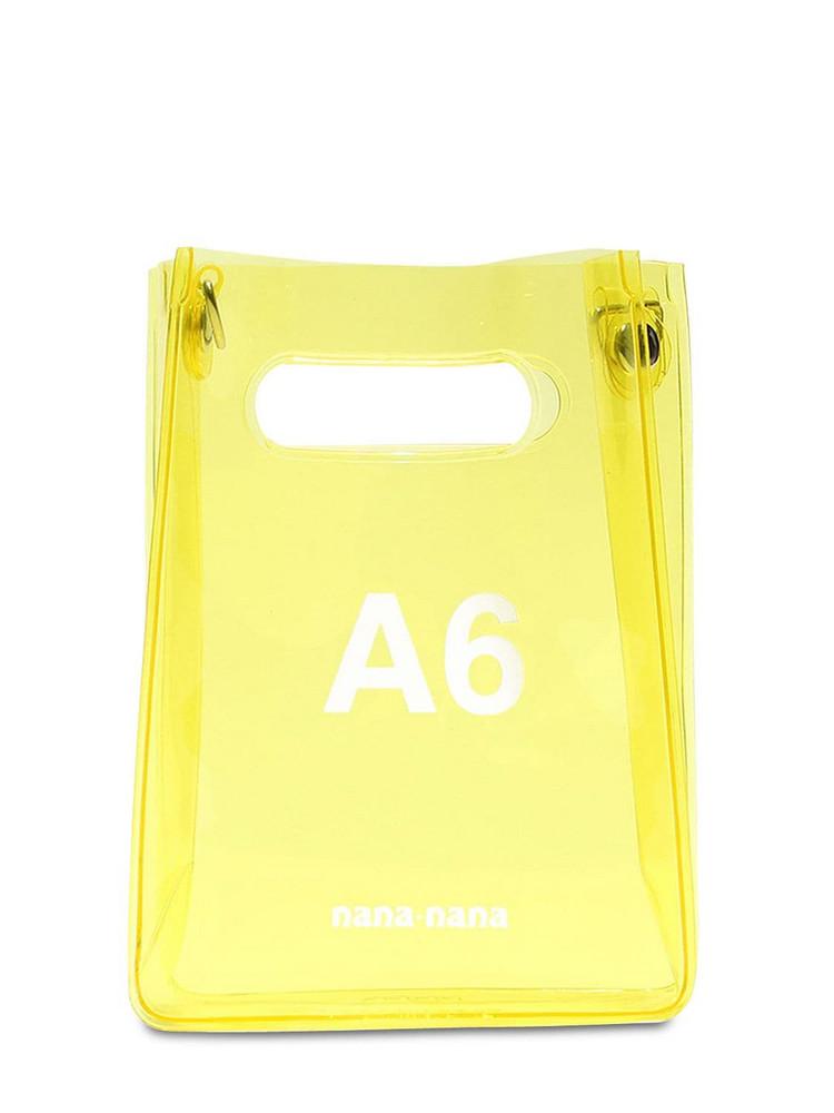 NANA NANA A6 Pvc Shopping Bag in yellow