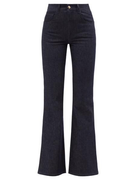 Chloé Chloé - High-rise Flared-leg Jeans - Womens - Denim