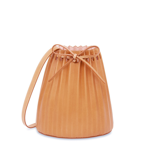 Mansur Gavriel Cammello Pleated Bucket Bag (Re20) - Rosa