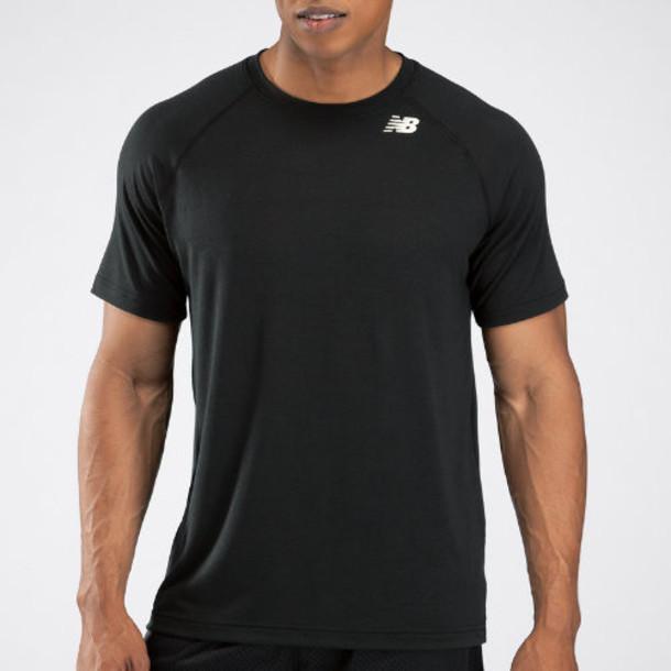 New Balance 3103 Men's Short Sleeve Tech Shirt - Team Black (TMMT3103TBK)