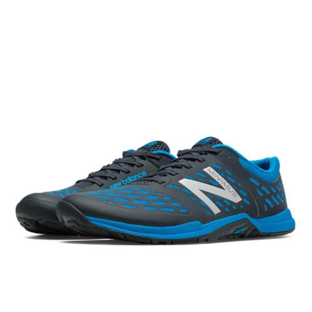 New Balance Minimus 20v4 Trainer Men's High-Intensity Trainers Shoes - Dark Grey, Bright Laser Blue (MX20GC4)