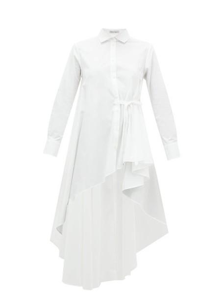 Palmer/harding Palmer//harding - Super Asymmetric Cotton-blend Shirt - Womens - White
