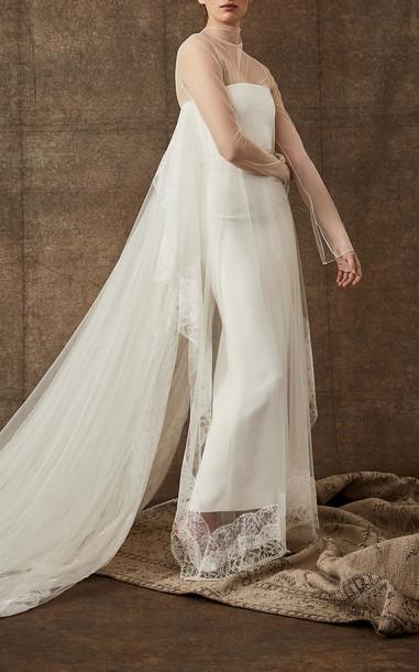 Danielle Frankel Bridal Frances Gown in white
