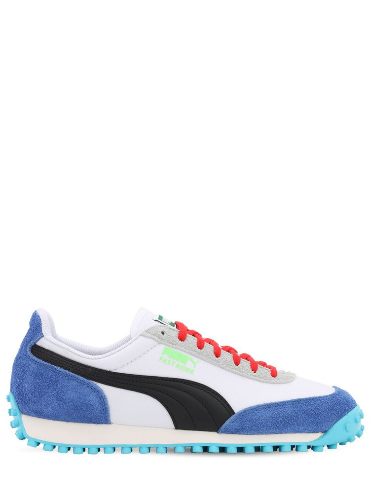 PUMA SELECT Fast Rider Ride On Sneakers in white