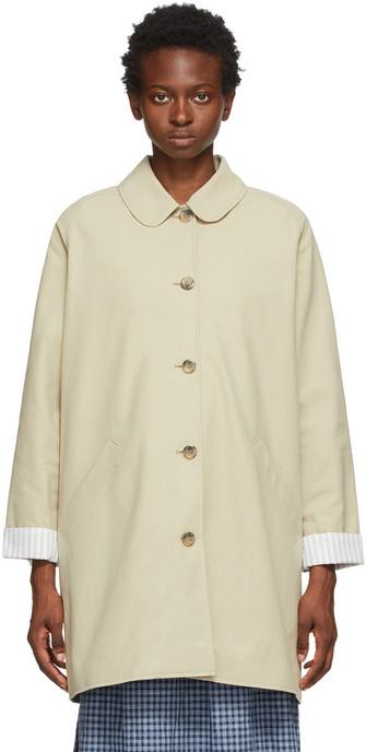 A.P.C. A.P.C. Beige Lou Coat