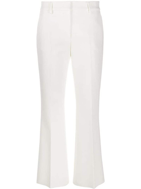MSGM tailored trousers in white