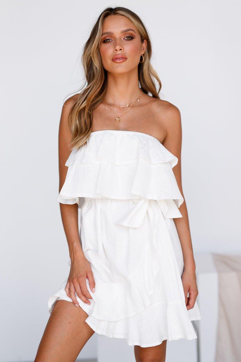 dress casual dress summer dress mini dress white dress white