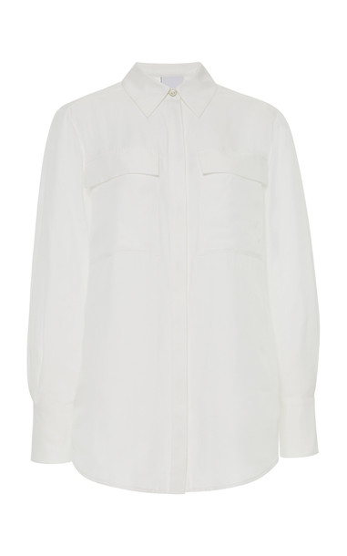 Acler Goldram Shirt Size: 2 in white