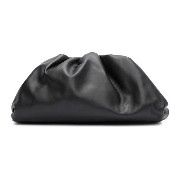 Bottega Veneta Black The Pouch Clutch