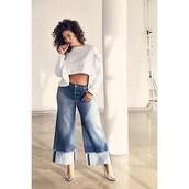 jeans,denim,flare jeans,wide leg jeans,ashley graham,curvy,plus size