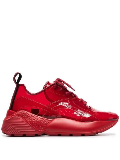 Stella McCartney Eclypse 45 chunky sneakers in red
