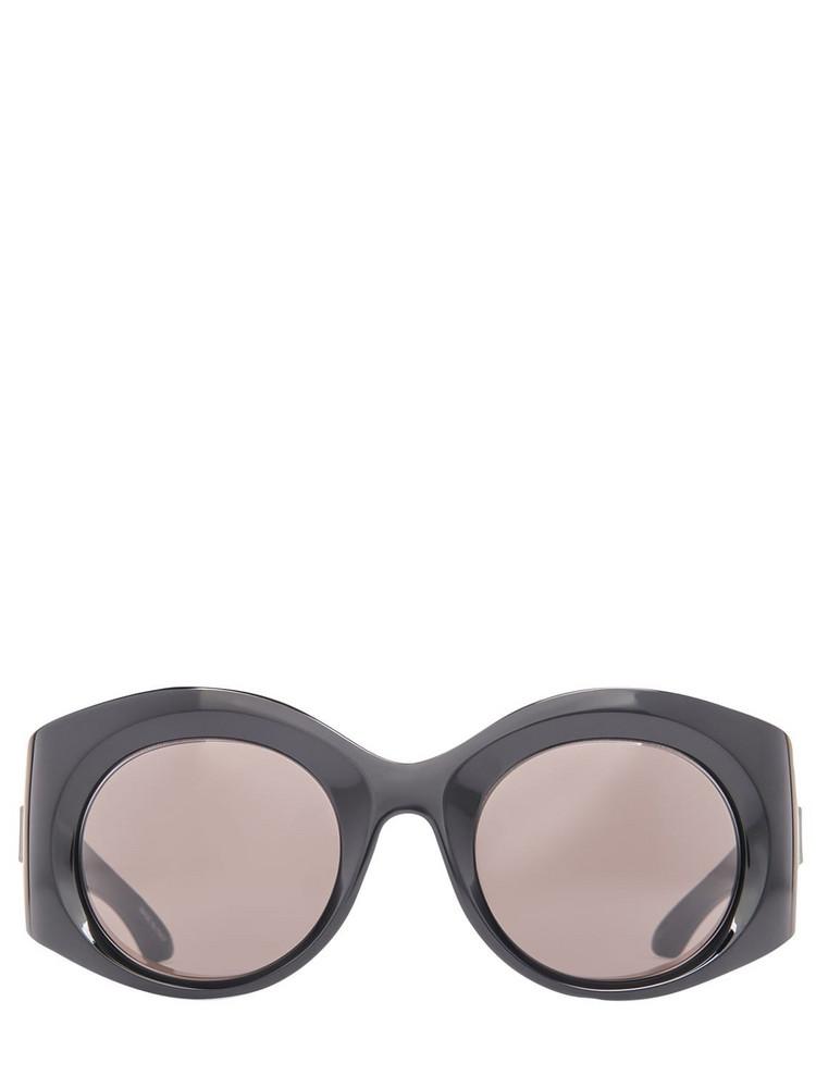 BALENCIAGA Bold Round Sunglasses in black / grey