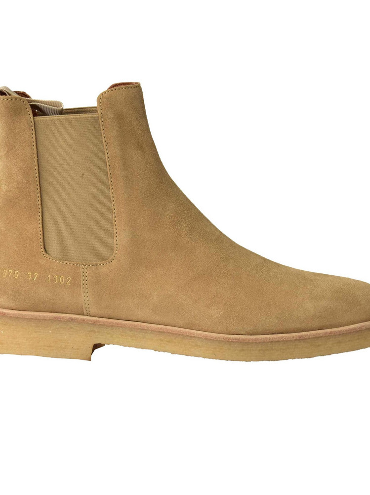 Common Projects Common Project Chelsea Ankle Boots in tan