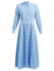 dress,cotton,print,blue