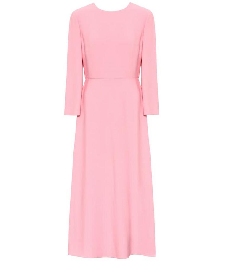Valentino Cady midi dress in pink