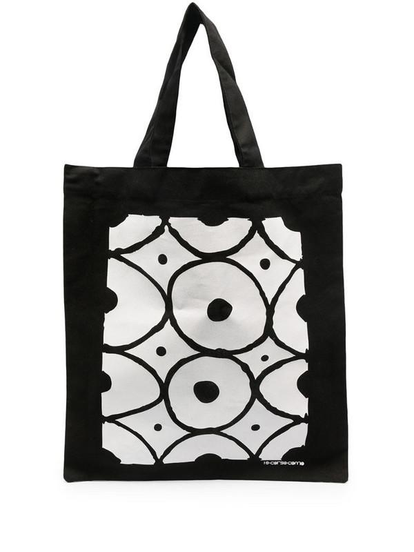 10 CORSO COMO graphic-print tote bag in black